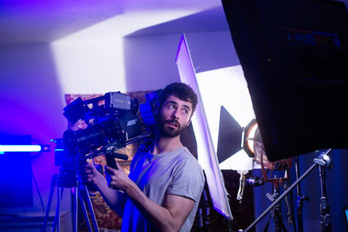 Pierre Tsigaridis, director and cinematographer of Two Witches
