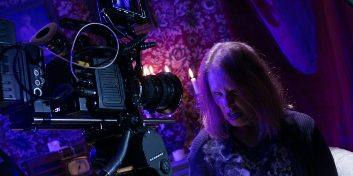 Behind the scenes on Two Witches
