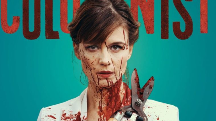The Columnist movie poster.