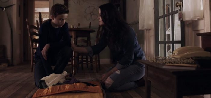 In Mums, Beth attempts to console Jack