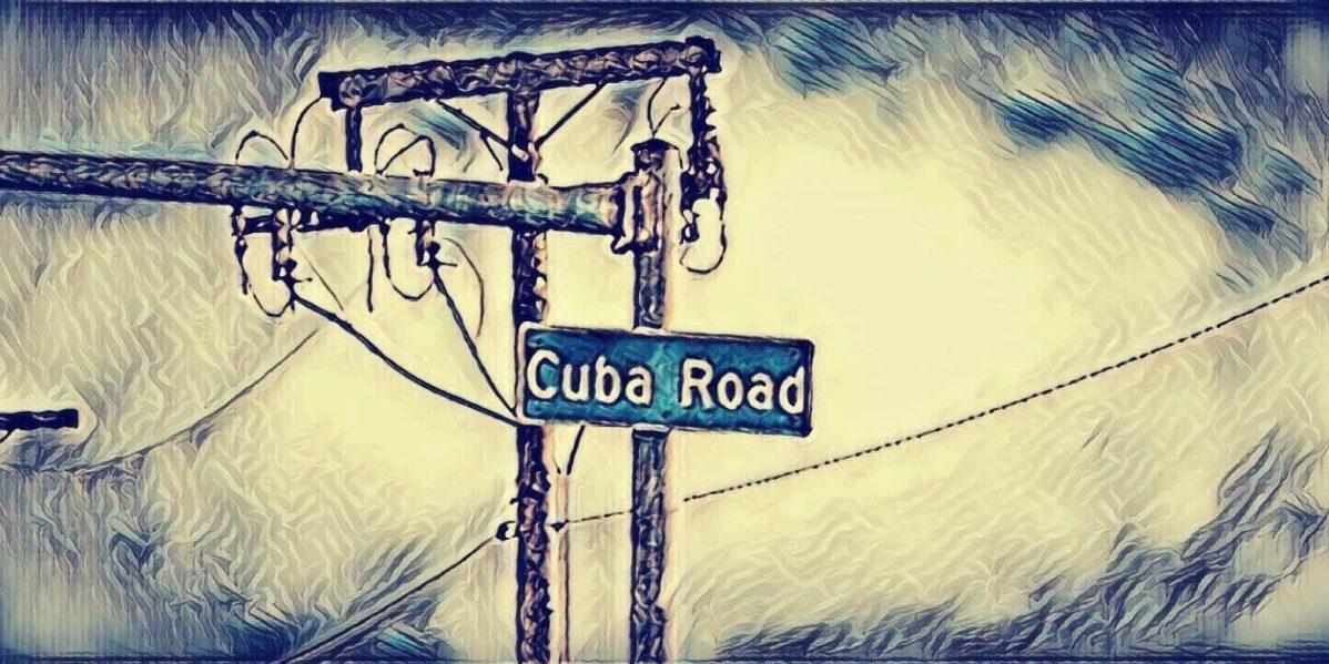 Street sign reading Cuba Road