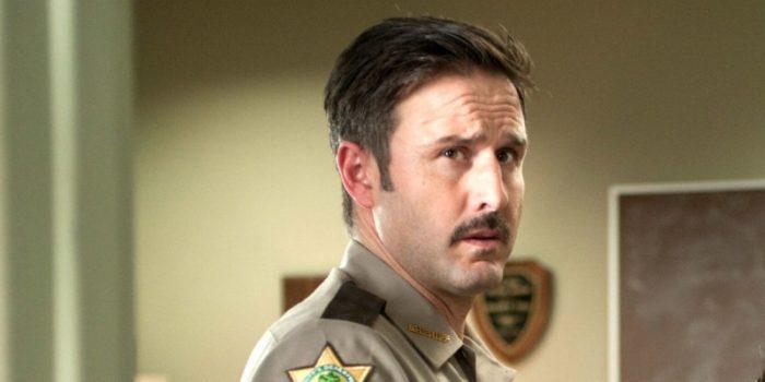 David Arquette as Dewey Riley in Scream.