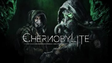 The cover title for Chernobylite with Igor and The Black Stalker highlighted