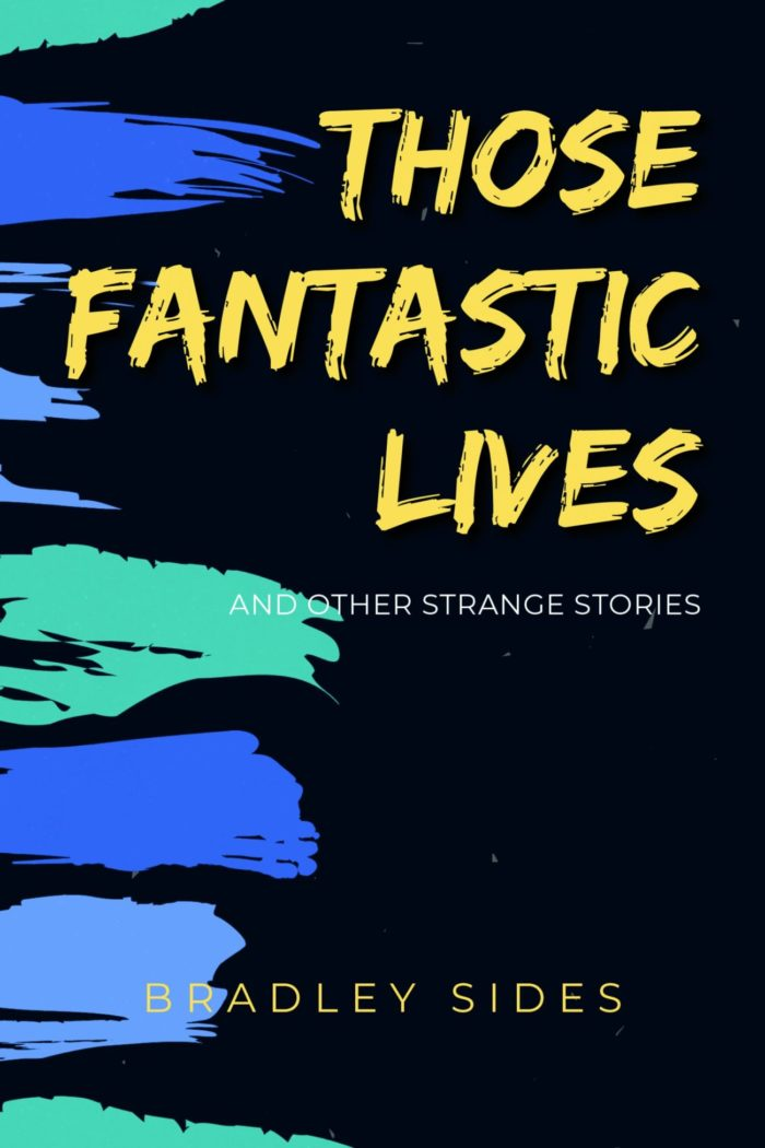 The beautifully simplistic cover for Those Fantastic Lives