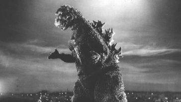 Godzilla standing tall