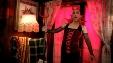 Dean Pelton acts as the mouthpiece for Satan in Shirley's horror story