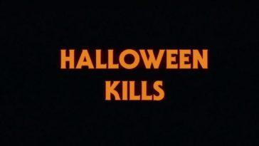 Halloween Kills title screen.