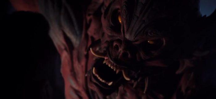 The demon of The Last Tsuburaya growls angrily