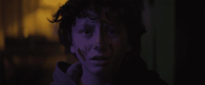 August Maturo as Lucas in Slapface