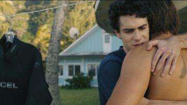 Dylan hugging Bruce