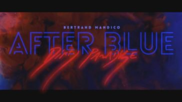 The stylized text of After Blue, which perfectly sums up the style of the film