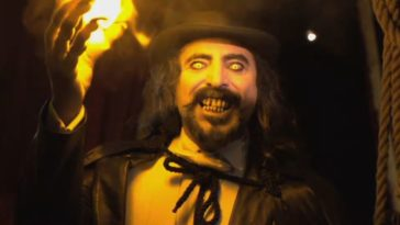Tom Savini looking like a creepy monster